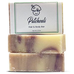 Patchouli Hair & Body Bar